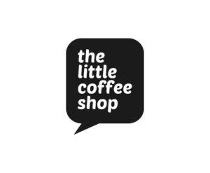 Logo the little coffee shop