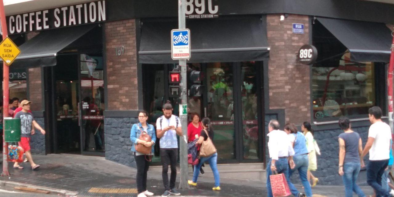 89ºC Coffe Station – Café especial na Liberdade
