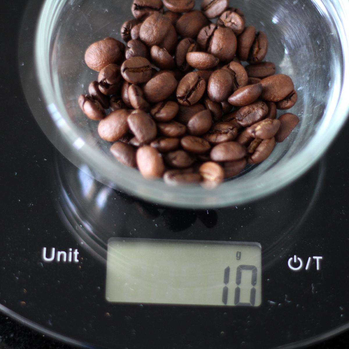 Balança de café
