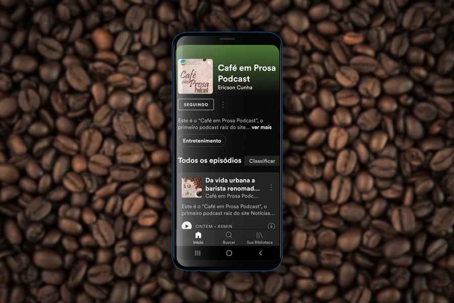 [PODCAST] Café em prosa podcast